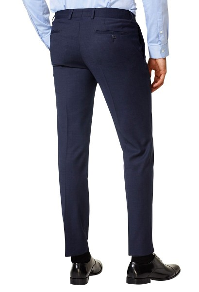 Pantalon de costume en laine mélang