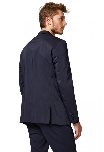 Veste costume en twill coupe slim