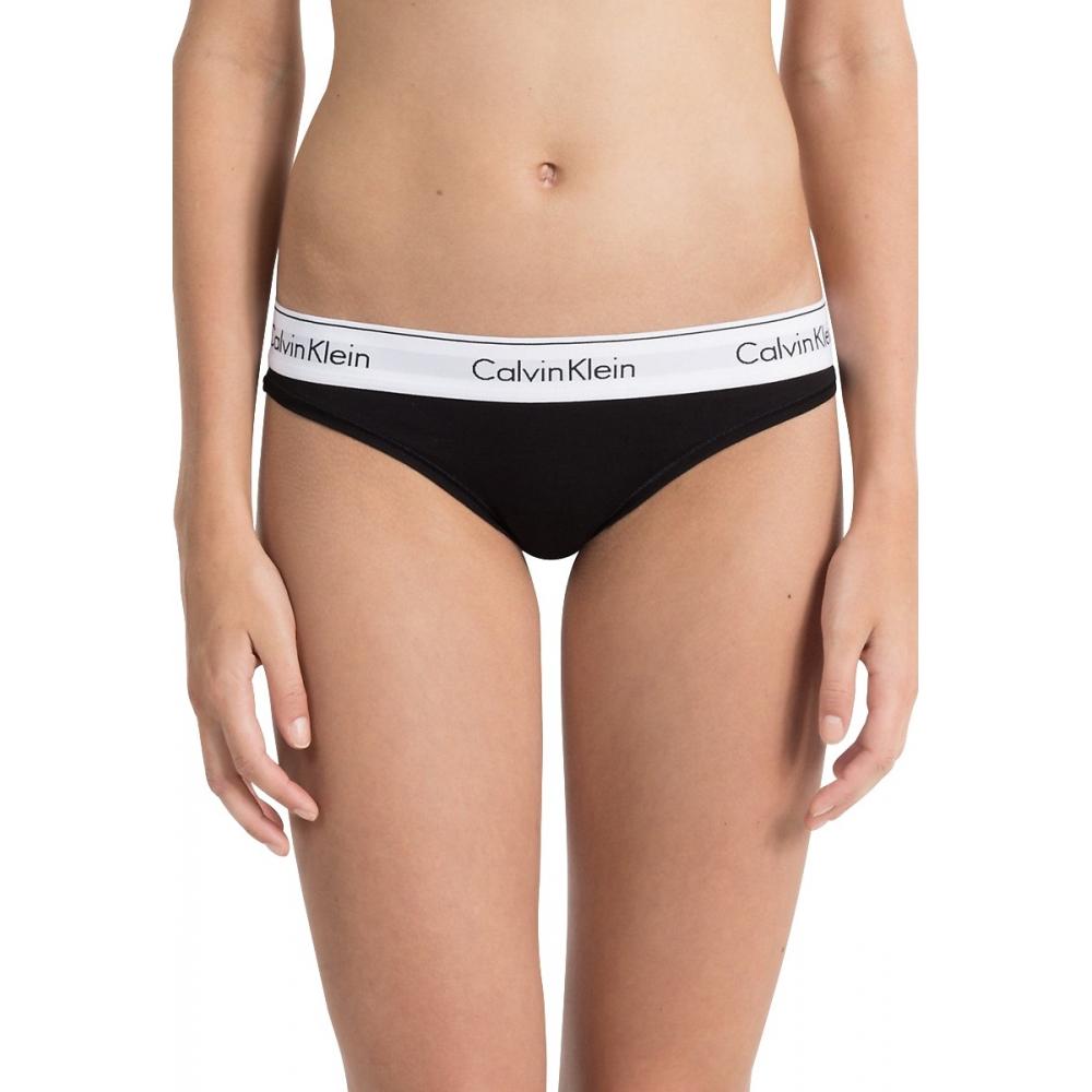 Culotte bikini Femmes Calvin klein 0000F3787E-001 - Happy Dressing c2dada31682