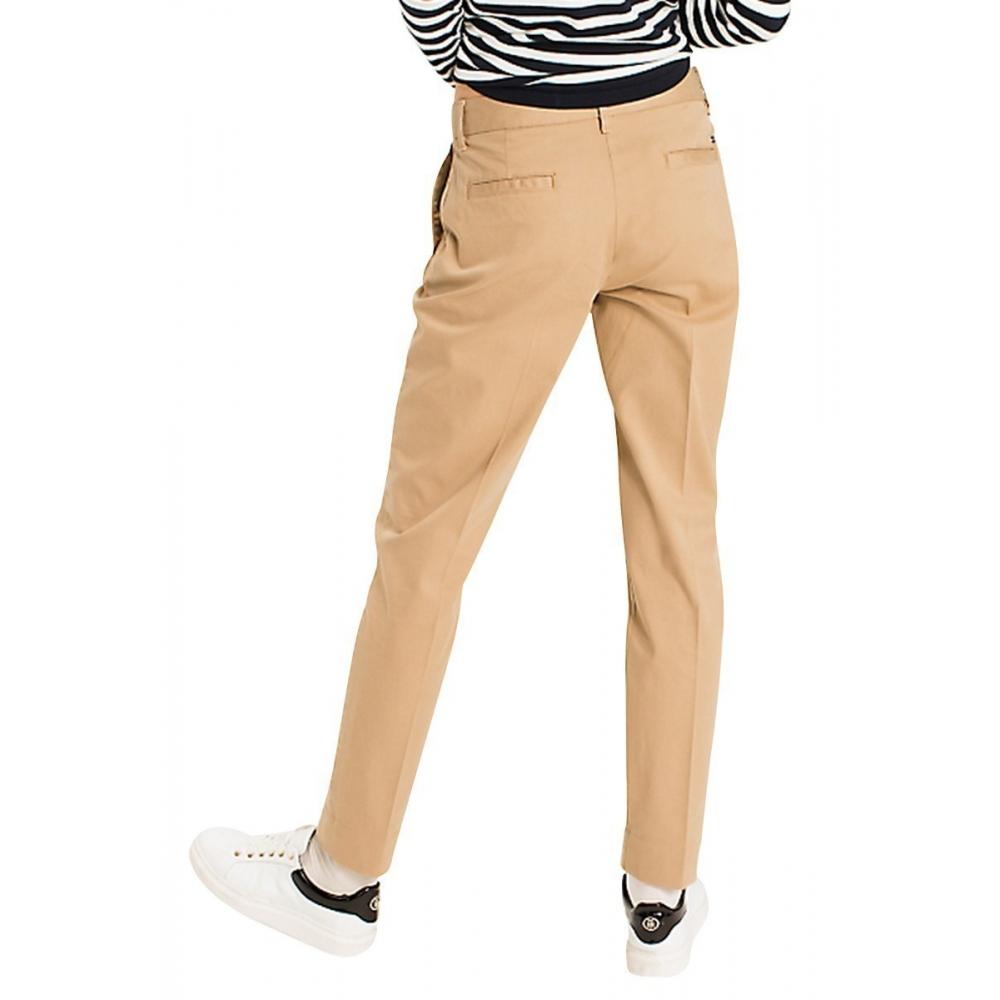 8d140cafb3ad Pantalon chino slim Femmes Tommy hilfiger WW0WW20489 - Happy Dressing