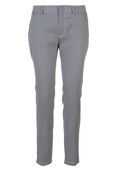 Pantalon à pois LIZZY FANCY Bleu indigo