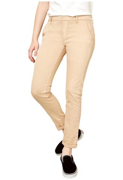 Pantalon chino uni SANDY 2 BASIC Beige