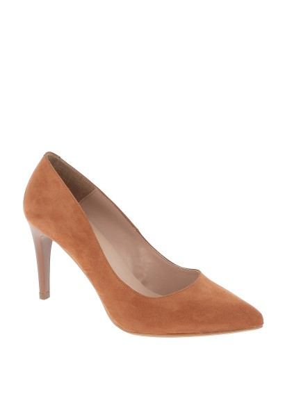 Escarpins REGINE Camel