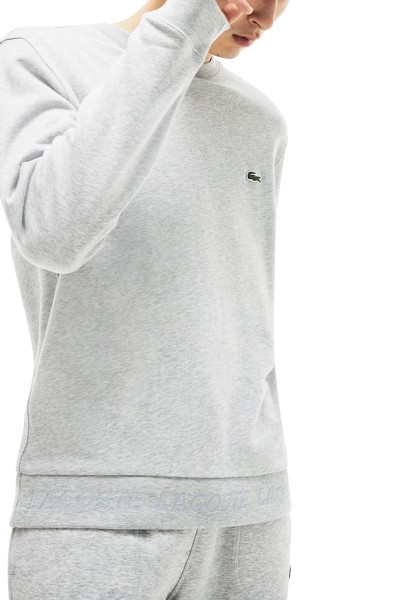 Sweat col rond manches longues