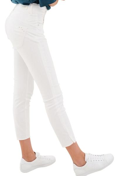 Jean skinny court SECRET Blanc
