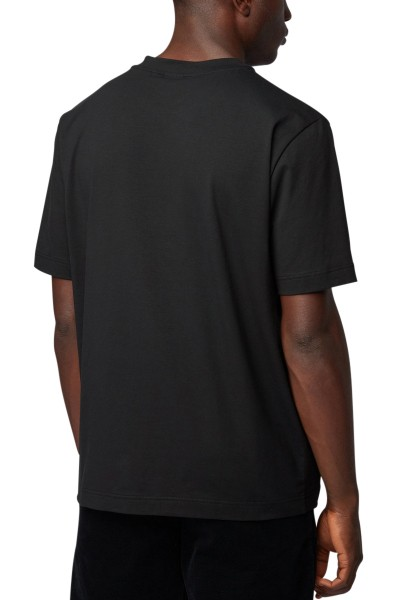 Teeshirt petit logo poitrine TCHUP Noir
