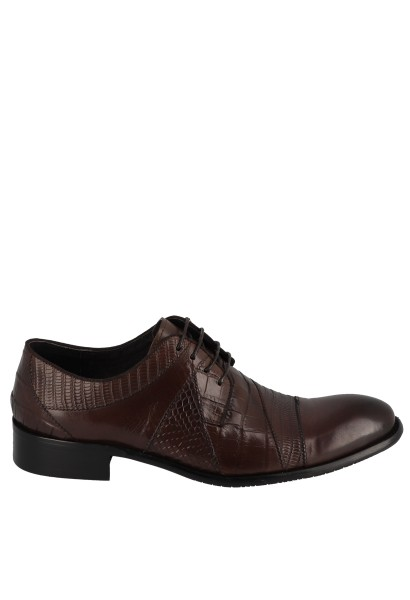 Derby texturé CARTER Marron