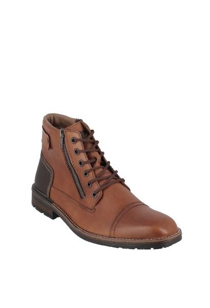 Boots avec zip CLERMONT Marron