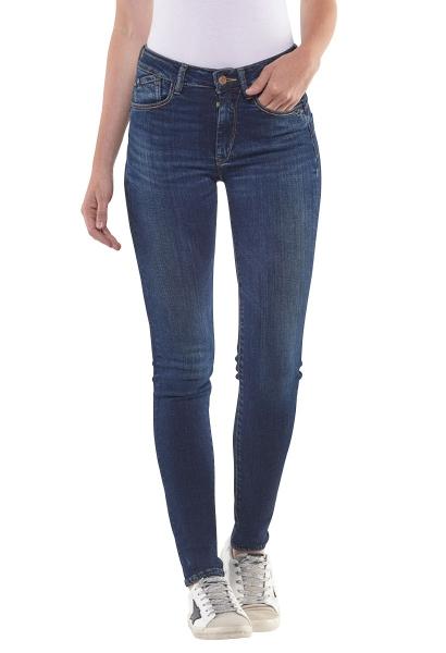 Jean skinny taille haute PULP HIGHSLI Brut used